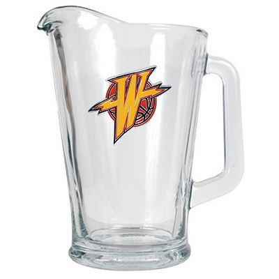 Golden State Warriors Glass Pitcher