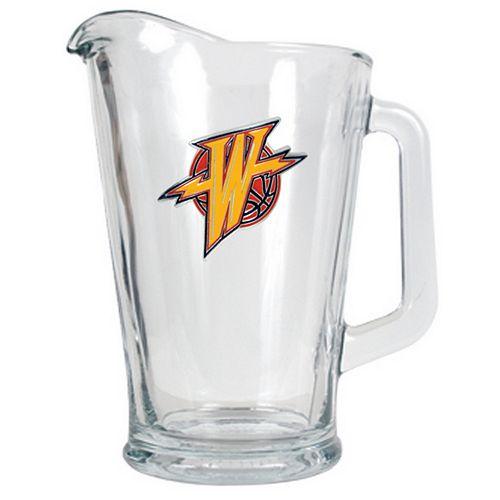 Golden State Warriors Glass Pitcher