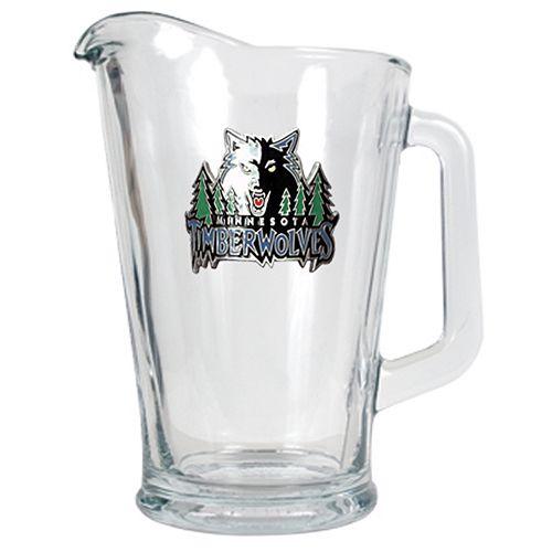 Minnesota TimberwolvesGlass Pitcher