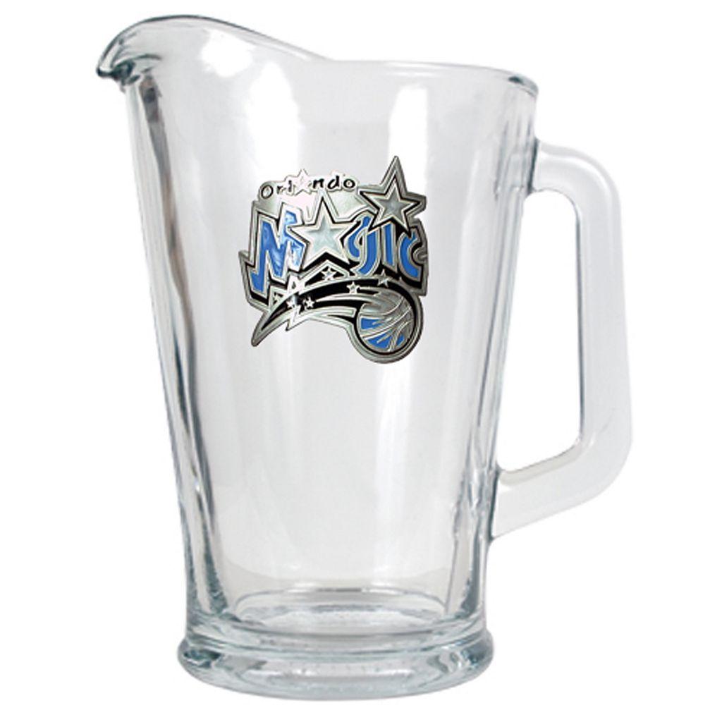Orlando Magic Glass Pitcher