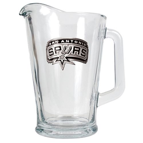 San Antonio Spurs Glass Pitcher
