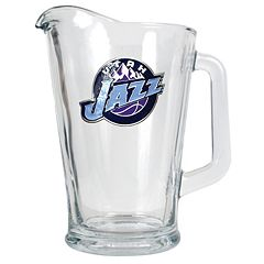 Utah Jazz Glass Pitcher