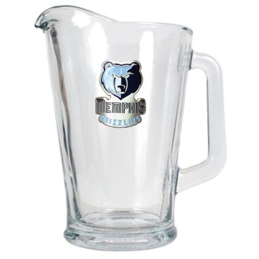 Memphis Grizzlies Glass Pitcher