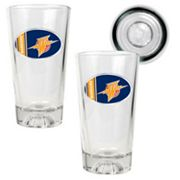 Golden State Warriors 2-pc. Pint Glass Set