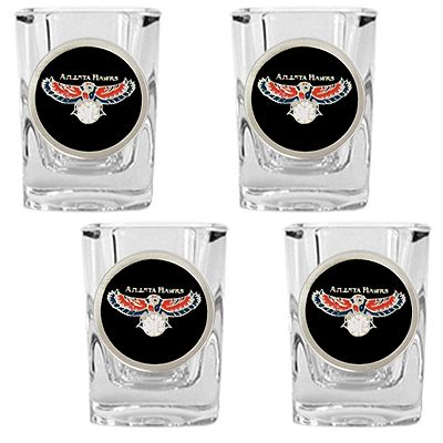 Atlanta Hawks 4-pc. Shot Glass Set