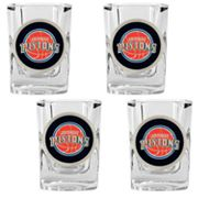 Detroit Pistons 4-pc. Shot Glass Set