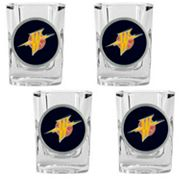 Golden State Warriors 4-pc. Shot Glass Set