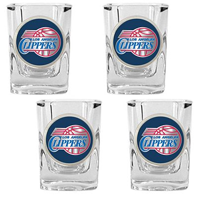Los Angeles Clippers 4-pc. Shot Glass Set