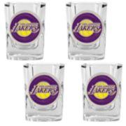 Los Angeles Lakers 4-pc. Shot Glass Set