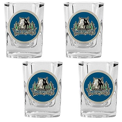 Minnesota Timberwolves 4-pc. Shot Glass Set
