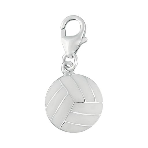 Personal Charm Sterling Silver Volleyball Charm