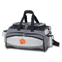 Clemson Tigers 6 pc Propane Grill & Cooler Set