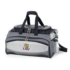 LSU Tigers 6 pc Propane Grill & Cooler Set