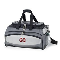 Mississippi State Bulldogs 6 pc Propane Grill & Cooler Set