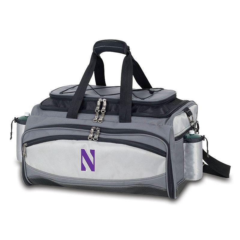 Northwestern Wildcats 6-pc. Propane Grill & Cooler Set, Multicolor