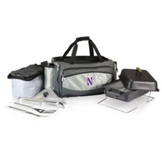 Northwestern Wildcats 6-pc. Propane Grill & Cooler Set