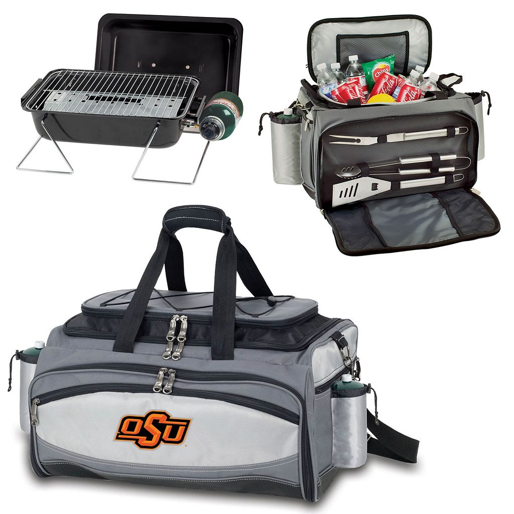 Oklahoma State Cowboys 6-pc. Propane Grill & Cooler Set