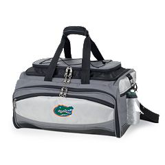 Florida Gators 6 pc Propane Grill & Cooler Set