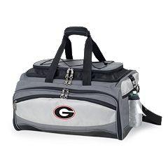 Georgia Bulldogs 6 pc Propane Grill & Cooler Set