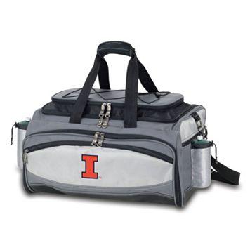 Illinois Fighting Illini 6-pc. Propane Grill & Cooler Set