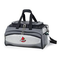 Louisville Cardinals 6 pc Propane Grill & Cooler Set