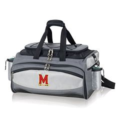 Maryland Terrapins 6 pc Propane Grill & Cooler Set