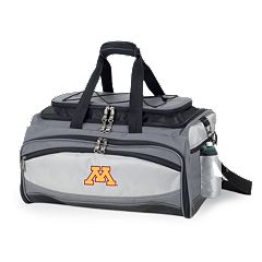 Minnesota Golden Gophers 6 pc Propane Grill & Cooler Set