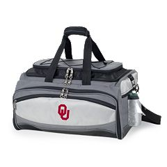 Oklahoma Sooners 6 pc Propane Grill & Cooler Set