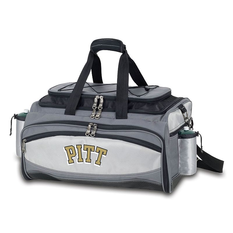 Pitt Panthers 6-pc. Propane Grill & Cooler Set, Multicolor