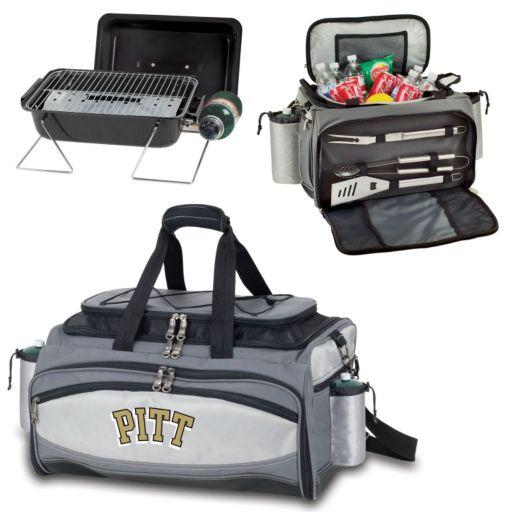 Pitt Panthers 6-pc. Propane Grill & Cooler Set