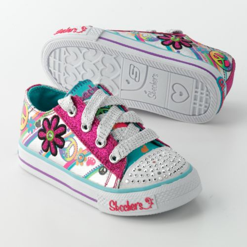 Skechers Twinkle Toes Groovy Baby Light Up Shoes