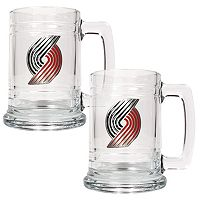 Portland Trail Blazers 2 pc Mug Set