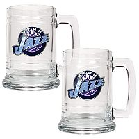 Utah Jazz 2 pc Tankard Set