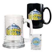Denver Nuggets 3-pc. Mug and Shot Glass Set