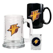 Golden State Warriors 3-pc. Mug and Shot Glass Set