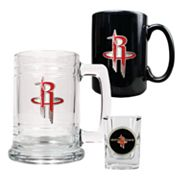 Houston Rockets 3-pc. Mug and Shot Glass Set