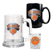 New York Knicks 3-pc. Mug and Shot Glass Set
