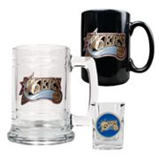 Philadelphia 76ers 3-pc. Mug and Shot Glass Set