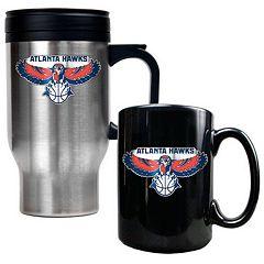 Atlanta Hawks 2 pc Mug Set
