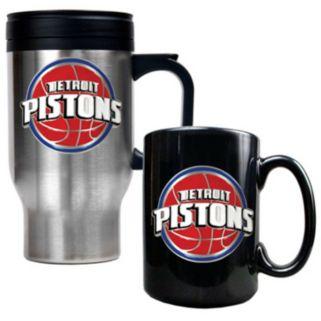 Detroit Pistons 2-pc. Mug Set
