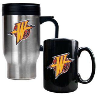 Golden State Warriors 2-pc. Mug Set