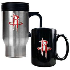 Houston Rockets 2 pc Mug Set
