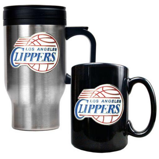 Los Angeles Clippers 2-pc. Mug Set
