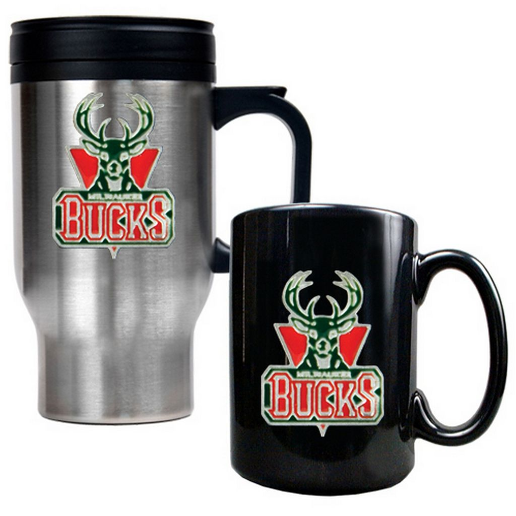 Milwaukee Bucks 2-pc. Mug Set