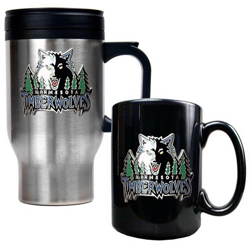 Minnesota Timberwolves 2-pc. Mug Set