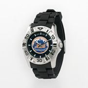 Game Time New York Mets Silver Tone MVP Watch - Men