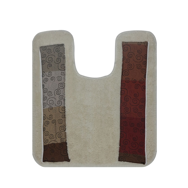 Miramar Banded Contour Bath Rug