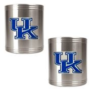 Kentucky Wildcats 2-pc. Stainless Steel Can Holder Set