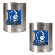 Duke Blue Devils 2-pc. Stainless Steel Can Holder Set