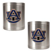 Auburn Tigers 2-pc. Stainless Steel Can Holder Set